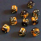 12mm Oblivion Spot Dice - Orange